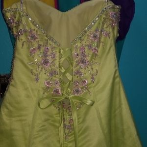 Tiffany Designs Princess style Prom gown